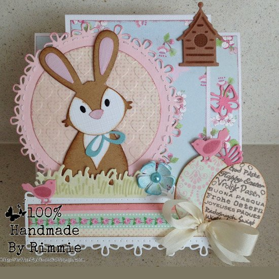 Ecstasy Crafts Marianne Design: Collectables Die & Stamp Set - Easter