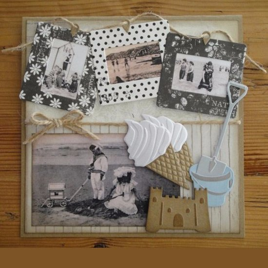 Cutting Sheet - Vintage Beach Tiny 1