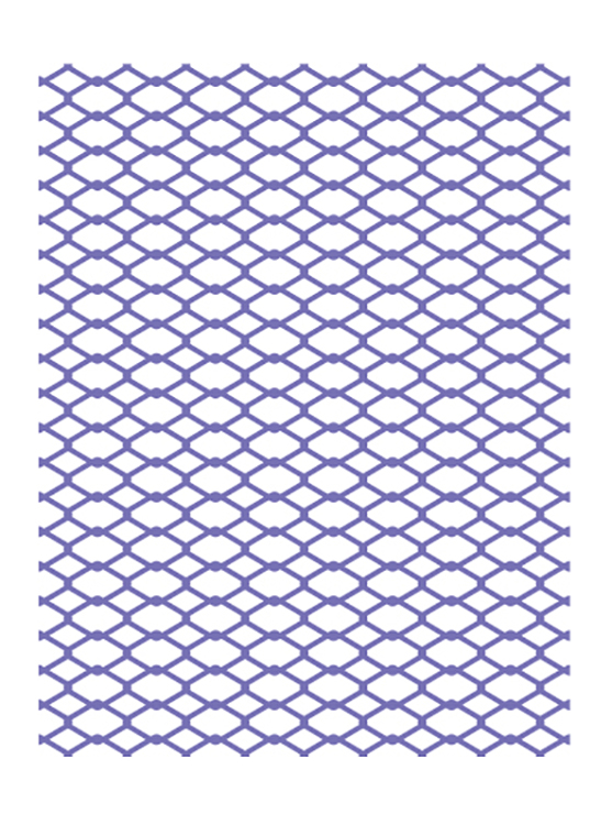 Ecstasy Crafts Couture Creations Embossing Folder - Chain Link