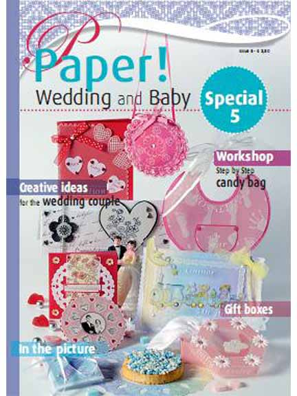 Ecstasy Crafts Paper! Magazine - Wedding And Baby -Issue #5