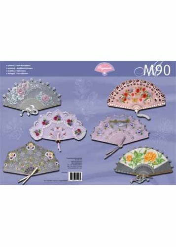 M90  Pattern Book-Fabulous Fans