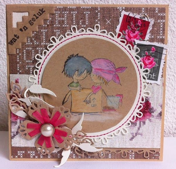 Ecstasy Crafts Clear Stamps - Don & Daisy-Moving