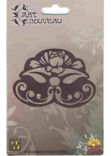 Nellie's Choice Art Nouveau Stencil - Ornament