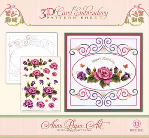 - Embroidery Pattern-Garden Enchantment