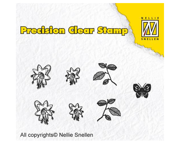 Precision Stamps -  Bell Flower