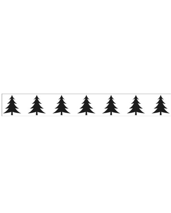 Border Embossing Folder -  Xmas Tree