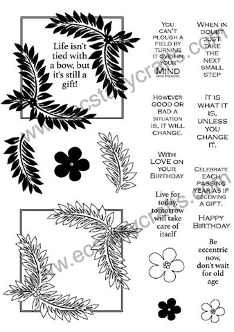 Creative Expressions Creative Expression Stamp - Fern Elements