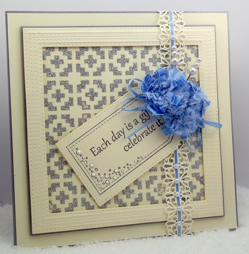 Creative Expressions Pierced Tag Sentiments Stamp Set