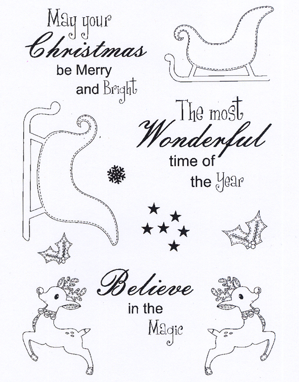 Creative Expressions - Clear Stamp Set - Believe In Magic