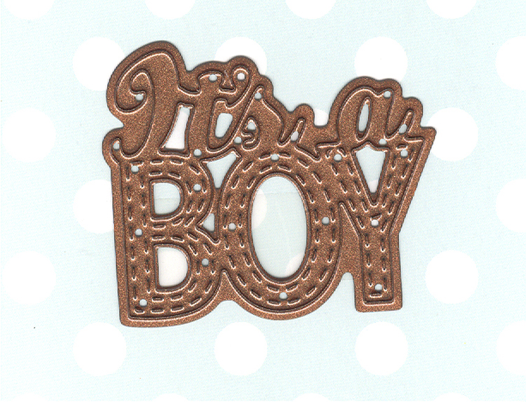 Creative Expressions New Arrival Collection It's A Boy Die