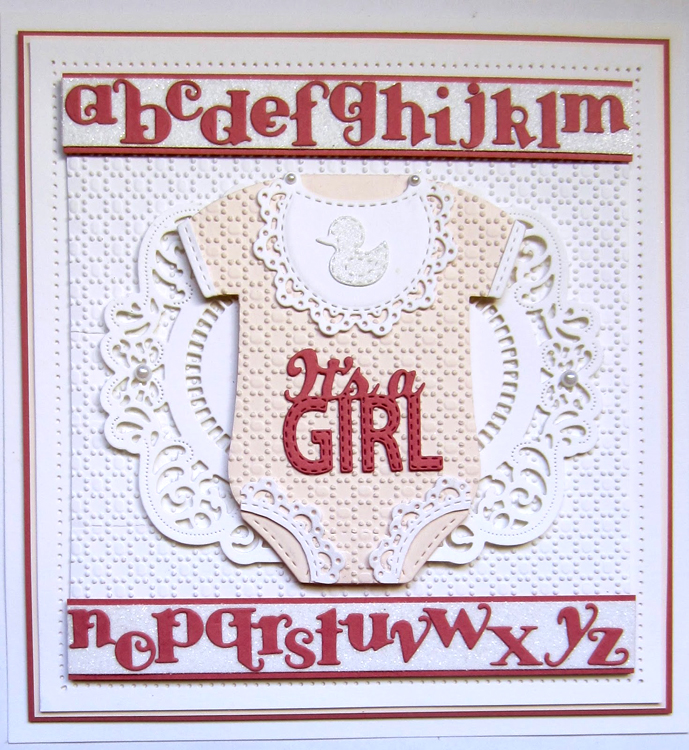 Ecstasy Crafts New Arrival Collection It's A Girl Die