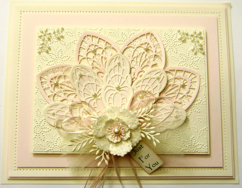 Ecstasy Crafts Finishing Touches Collection Olive Branch Die