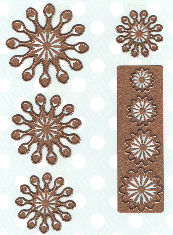 Ecstasy Crafts Finishing Touches Collection Cape Daisy Die
