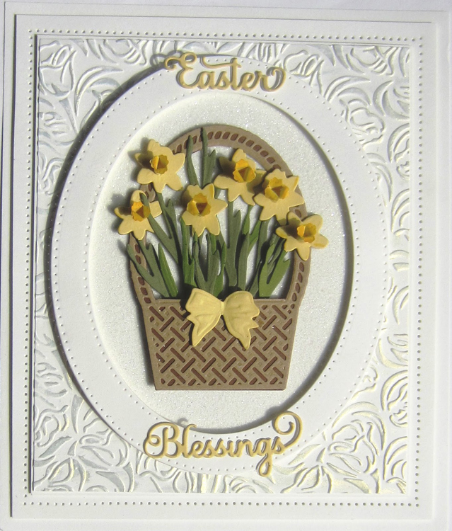 Creative Expressions Finishing Touches Collection Spring Daffodils Die