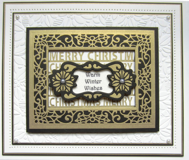 Ecstasy Crafts Festive Collection Triple Merry Christmas
