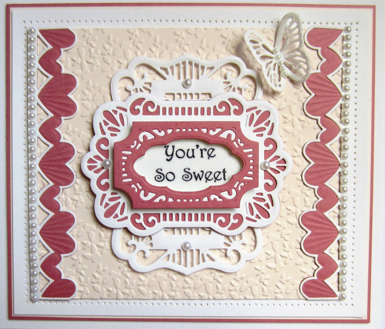 Creative Expressions Configurations Romantic Edger Die