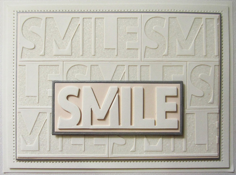 Ecstasy Crafts Sue Wilson Dies - Perspectives Collection - Smile