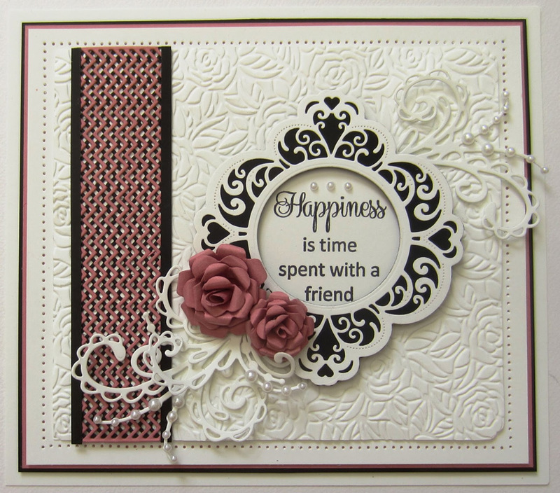 Ecstasy Crafts Sue Wilson Dies -Clean And Simple Collection - Zig Zag Border