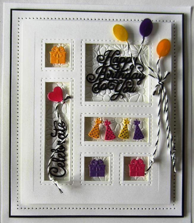 Ecstasy Crafts Shadow Boxes Collection Birthday