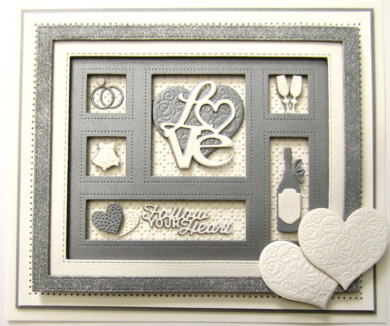 Ecstasy Crafts Shadow Boxes Collection Wedding