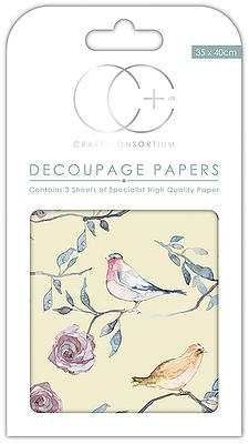 Creative Expressions Bird Treetop Large Decoupage Papers