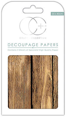 Creative Expressions Oakwood Decoupage Papers