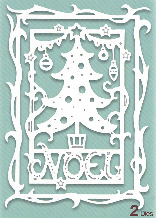 Die Paper Cuts Collection - Christmas Tree