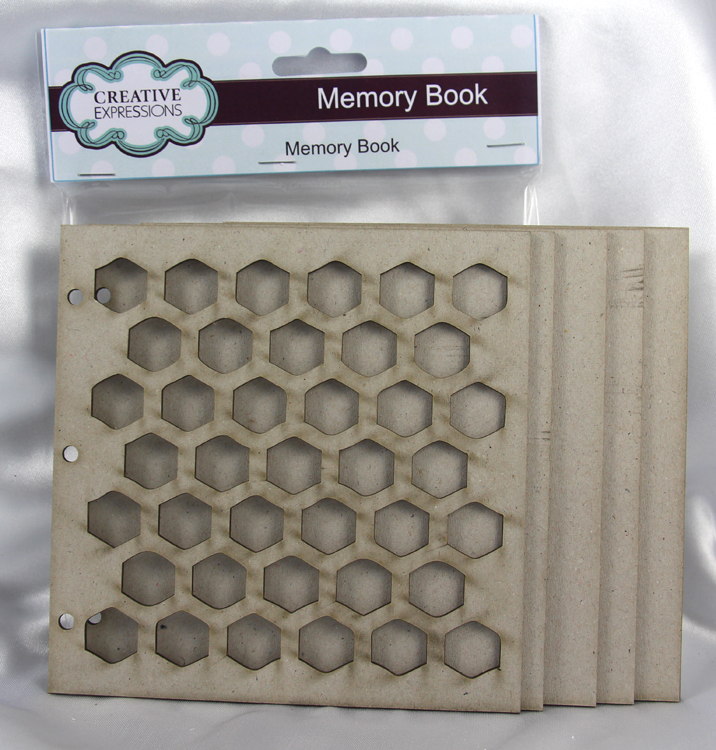 Creative Expressions Greyboard Memory Book
