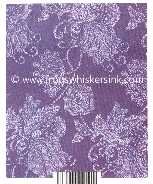Ecstasy Crafts Frog's Whiskers Ink Stamps - Brocade Background