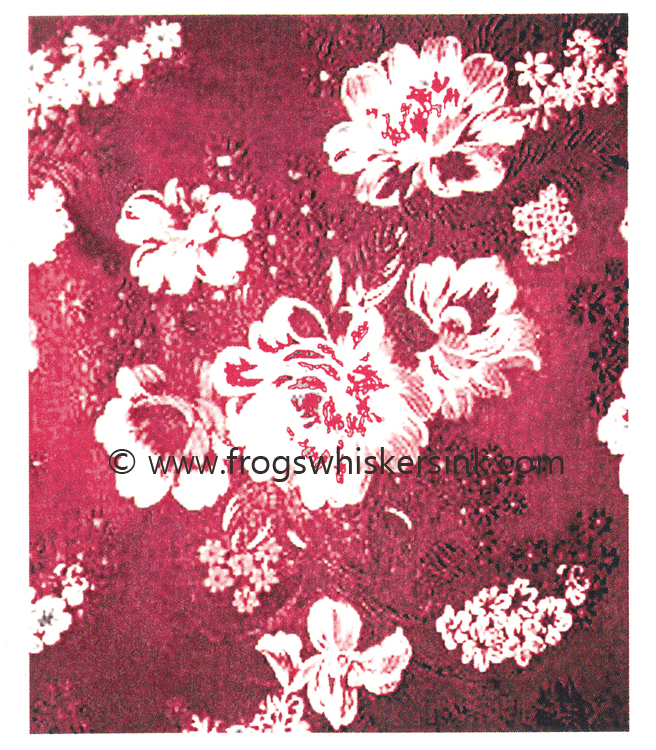 Stamps - Rose Brocade