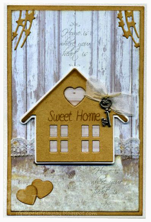 Ecstasy Crafts Collectable Die Set - Home Sweet Home
