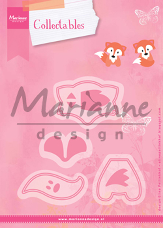Ecstasy Crafts Marianne Design: Collectables Die Set - Fox