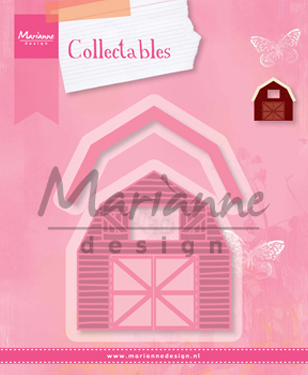 Ecstasy Crafts Marianne Design: Collectables Die Set - Barn Set