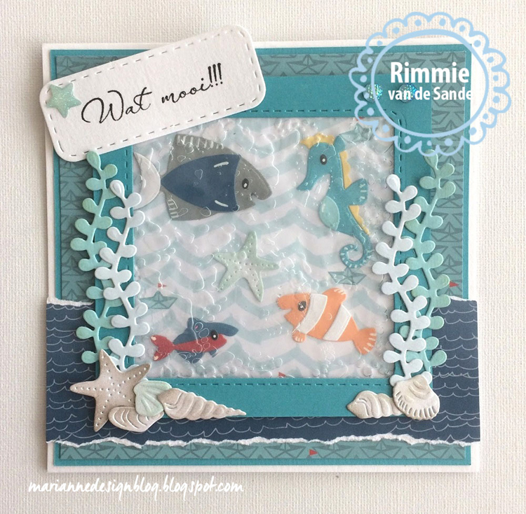 Ecstasy Crafts Marianne Design: Collectables Eline's Tropical Fish Die Set