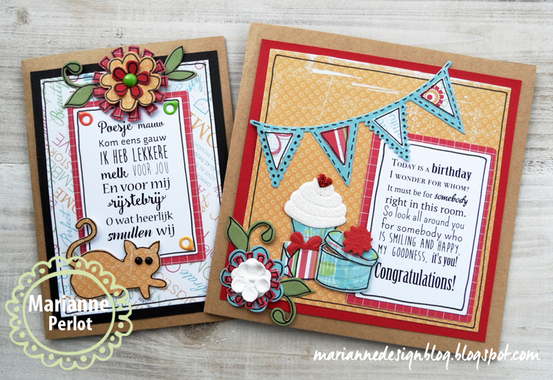 Ecstasy Crafts Marianne Design: Craftables Dies - Flower Set: Funky