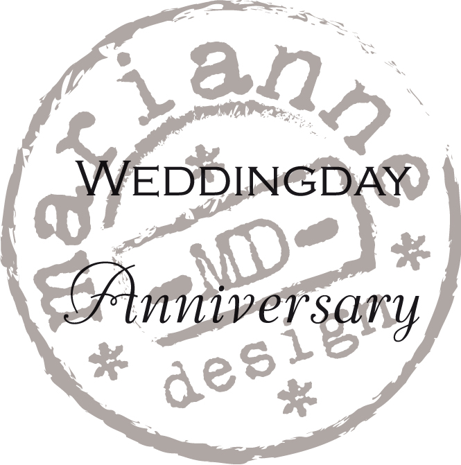 Marianne Design Clear Stamp Wedding Day