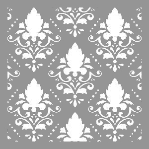 Creative Expressions Mask - Damask