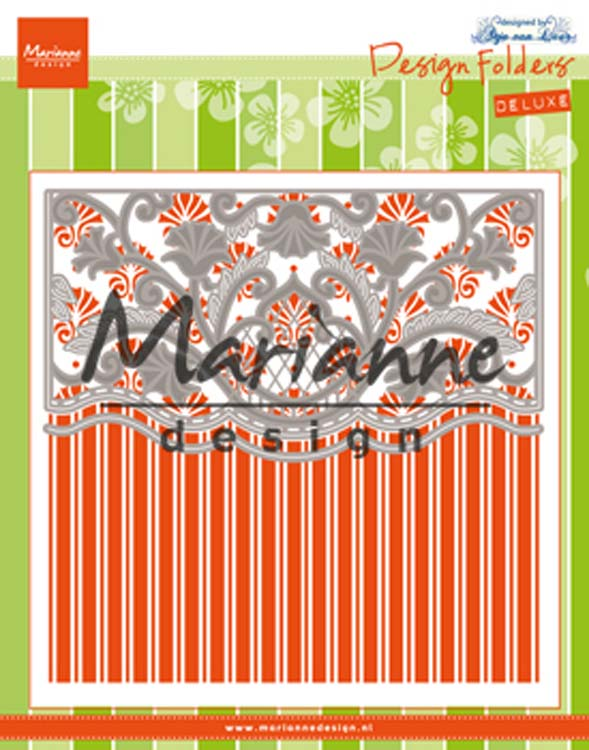 Marianne Design Embossing Folder Anja's Ornamental