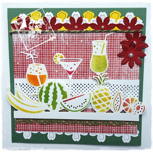 Ecstasy Crafts Joy! Crafts Cutting And Embossing Dies - Fruit