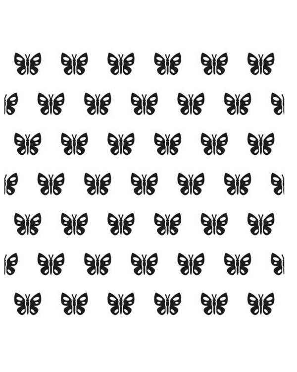 Nellie's Choice Background Embossing Folder - Spring Butterfly