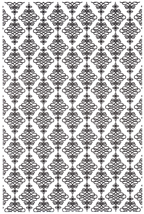 Embossing Folder A4 Size - Eternity