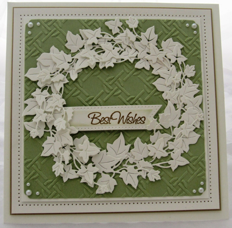 Creative Expressions Embossing Folder A4 Size - Knotted Trellis