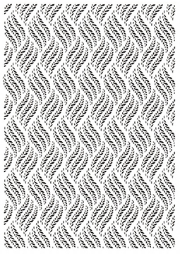 Creative Expressions Embossing Folder - A4 - Braided Vines