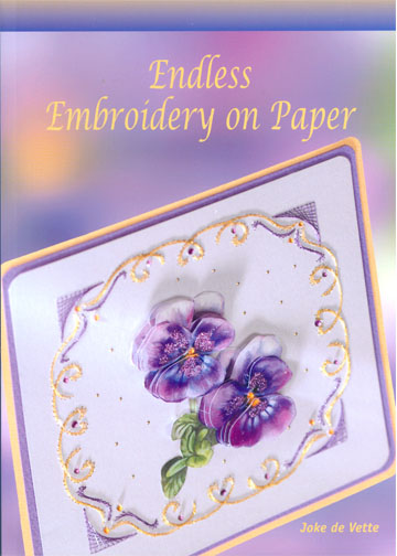 Ecstasy Crafts Endless Embroidery On Paper Book