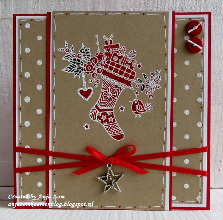 Clear Stamp: Doodle Christmas Stocking