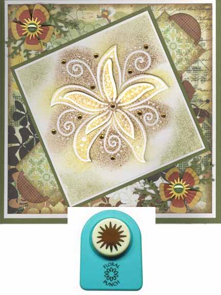 Ecstasy Crafts Floral Punch Star Stamen (small)