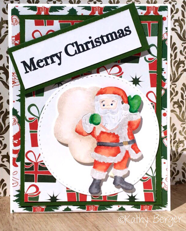 Frantic Stamper Precision Die - Santa With Toy Bag
