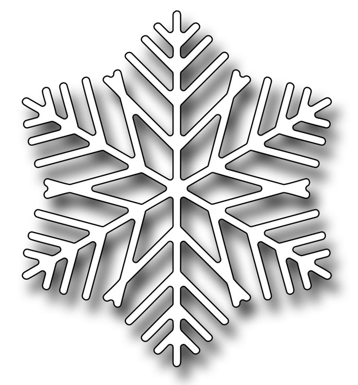 Precision Die - Frosty Snowflake