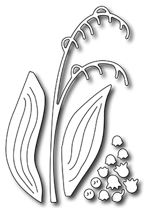 Precision Die - Lily Of The Valley Flower Builder (4)