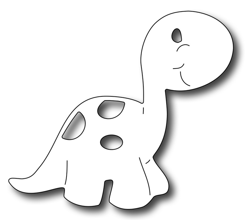 Precision Die - Cute Dino